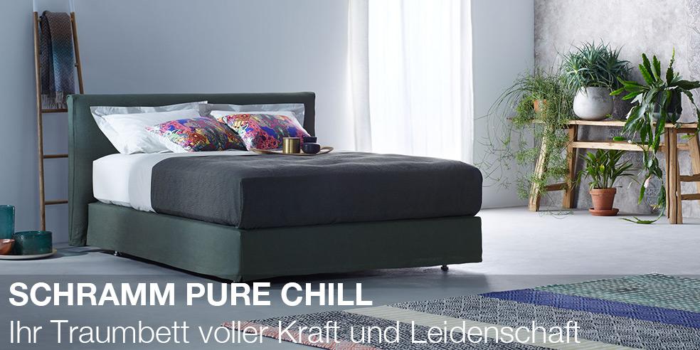 PURE CHILL - Ihr Traumbett voller Kraft und Leidenschaft.