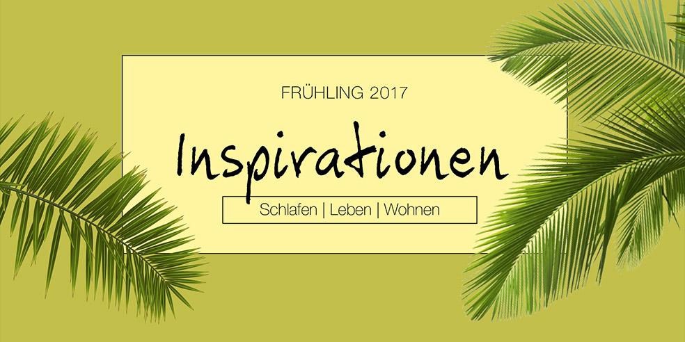 Frühling 2017 - Inspirationen