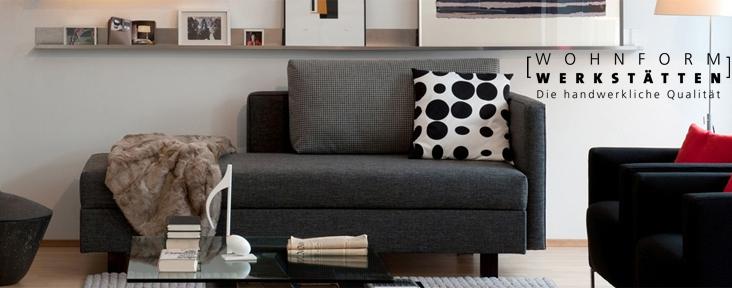 wohnform werkst tten bei mannsd rfer schlafen leben wohnen. Black Bedroom Furniture Sets. Home Design Ideas