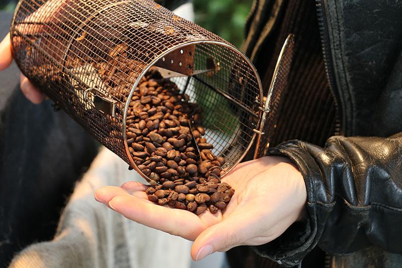 Die Kaffeerösterei CAFE BRIGADE beim Hausfest 2016