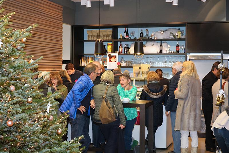 Unsere Cafe-Bar beim Hausfest 2016