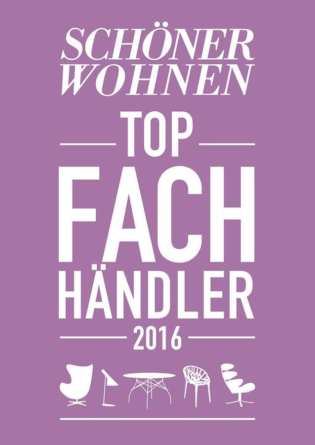 Schöner Wohnen Top Fachhändler 2016