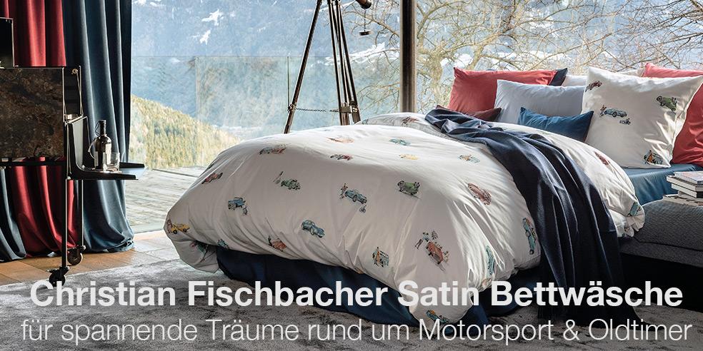 Christian Fischbacher Satin Bettwäsche RALLYE