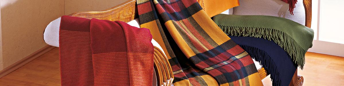 Decken und Plaids