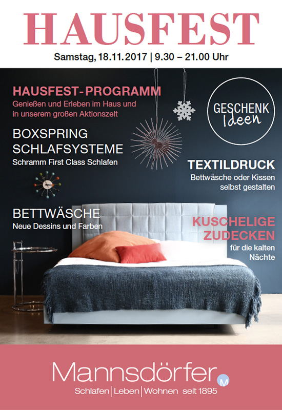 Titelcover Hausfest 2017