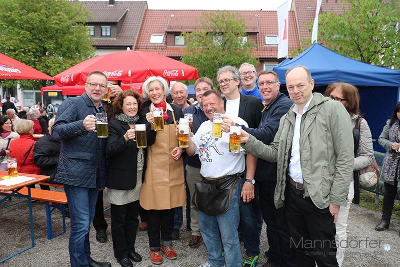 Eröffnung des Maibaumfest am Löwen-Markt