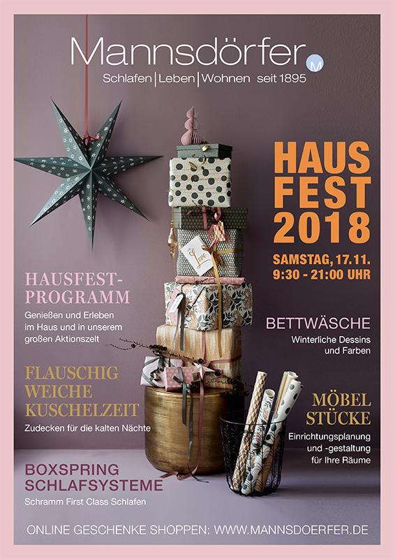 Cover Hausfest Prospekt 2018