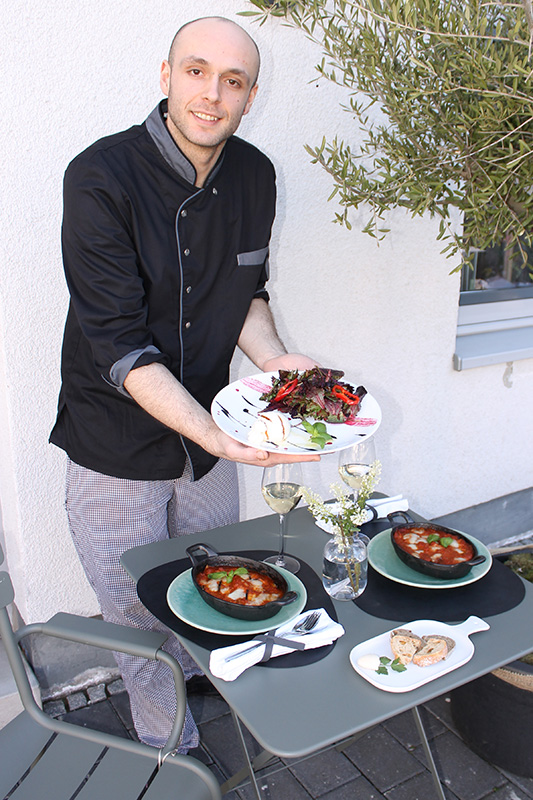 Küchenchef Mannsdörfer Bistro