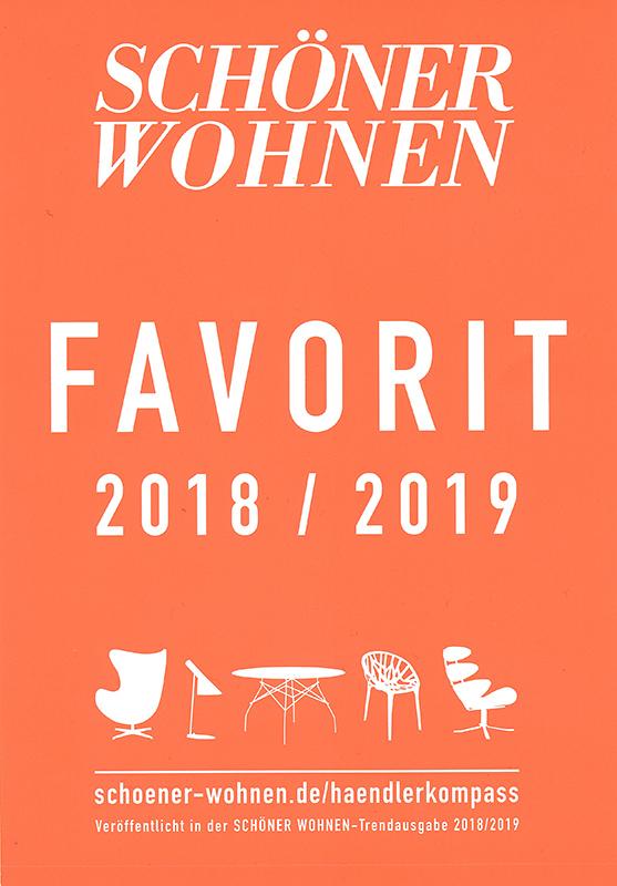 Schöner Wohnen Favorit 2018/2019