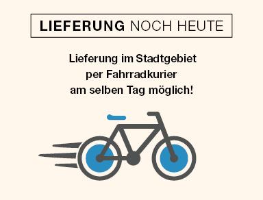 Lieferung per Fahrradkurier