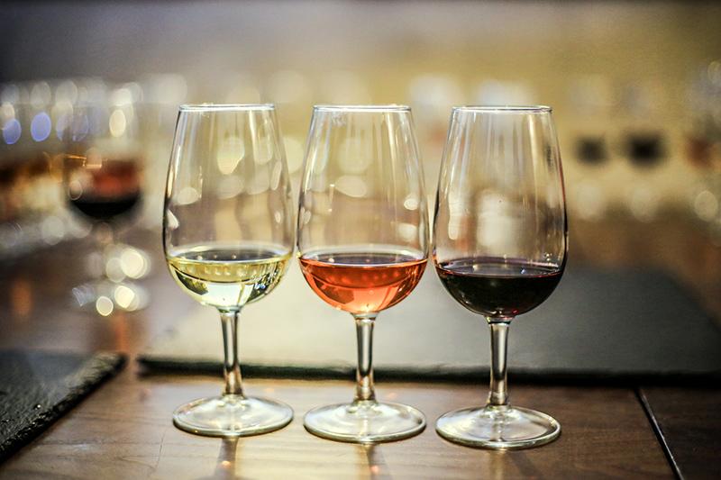 Weinprobe bei Mannsdörfer