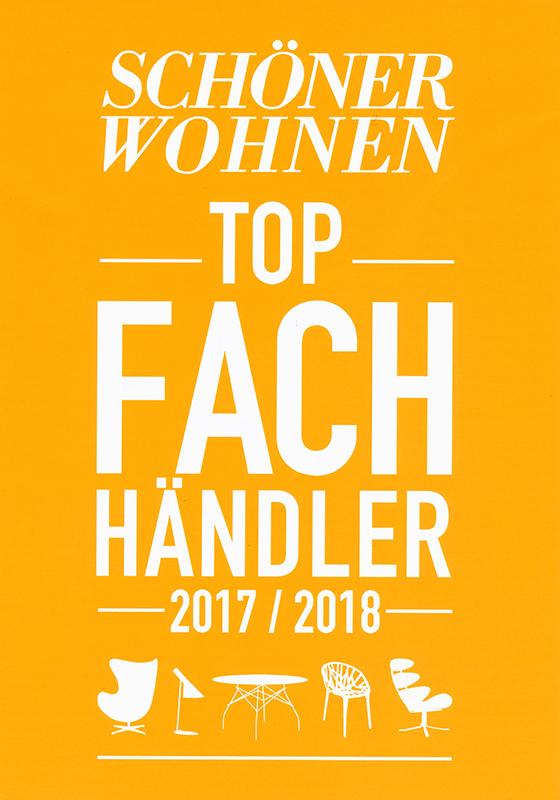 Schöner Wohnen Top Fachhändler 2017/2018