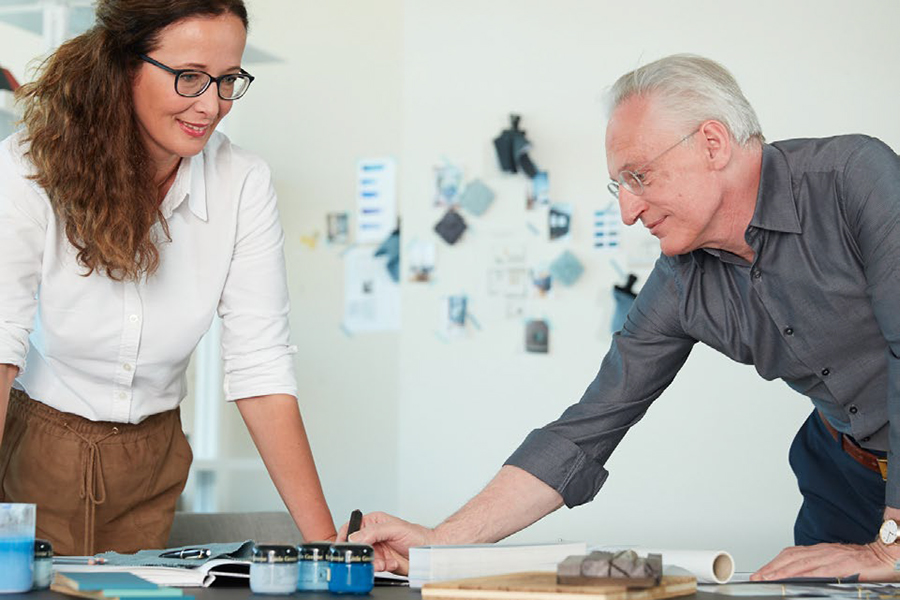 Petra Schumacher und Rainer Weikert - unsere Einrichtungsberater